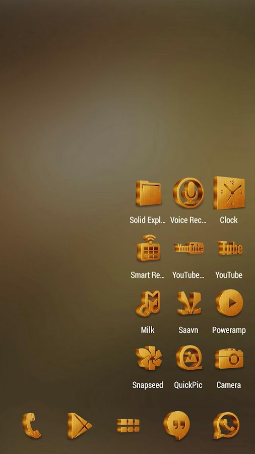Grove Multilauncher Icon Pack Screenshot 1
