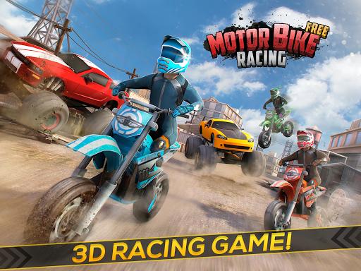 Motor Bike Racing Game 3D - screenshot