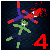 Game Stickman Warriors 4 Onling Mode Epic Fight APK for Kindle