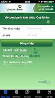 Screenshot of Vietcombank