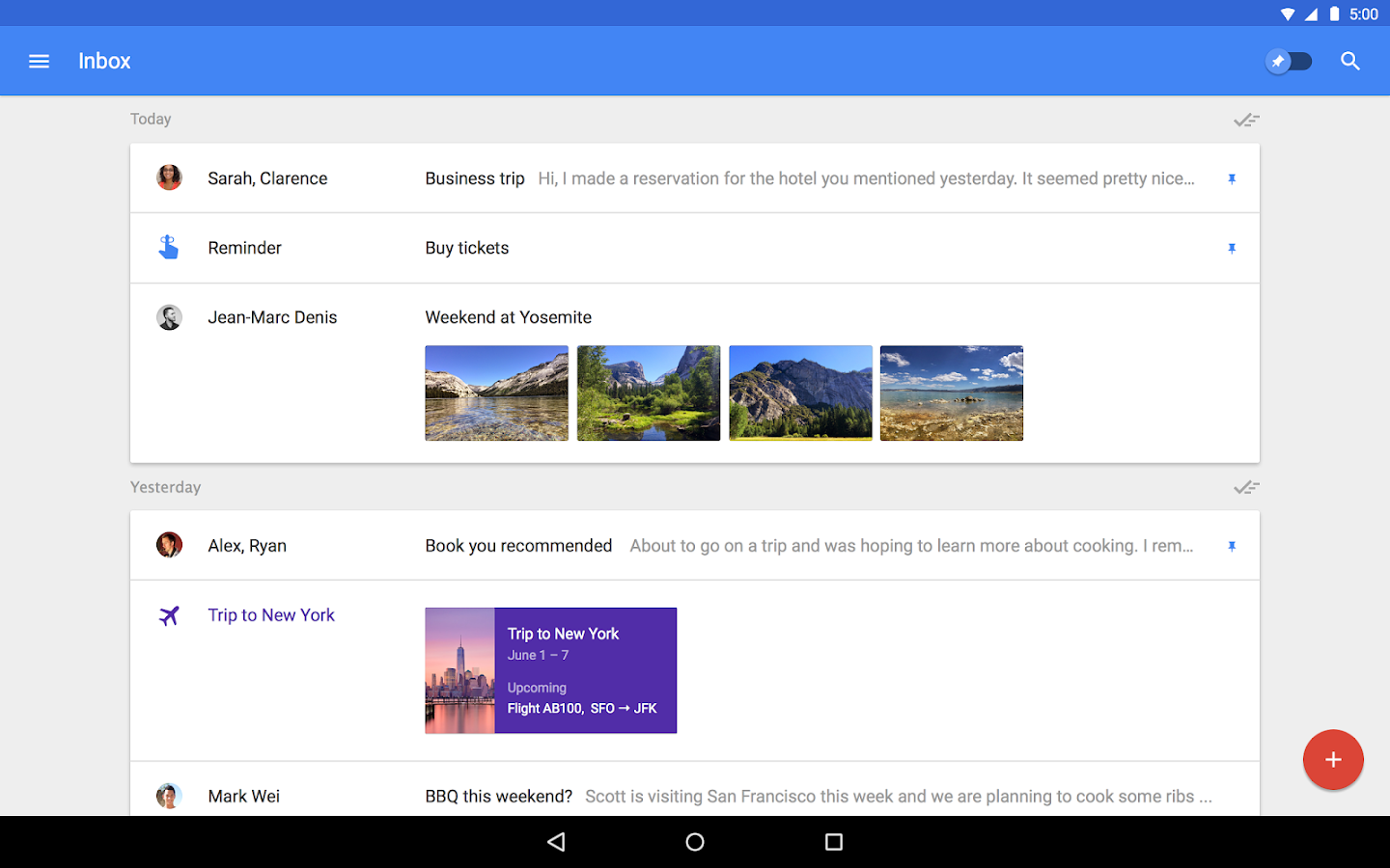 Inbox by Gmail Screenshot 5