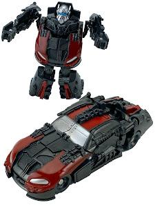 """Робот серии """"Город Игр"""" Трансформер S2 - Машинка спорт, черный-красный"""