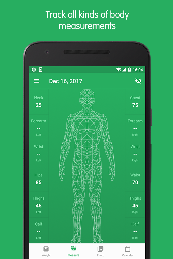 Weight Track Assistant - Free weight tracker Screenshot 1