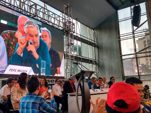Apartes del discurso de Pepe Mujica sobre la paz en Colombia
