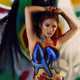 by Andrew Caw - People Body Art/Tattoos ( glamour, sexy, fashion, body art, fashion photography, philippines, body paint )