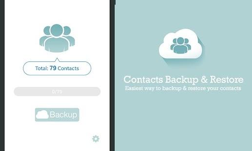 download Backup dan restore kontak