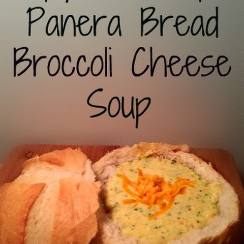 Copy Cat Panera Bread Broccoli Cheese Soup