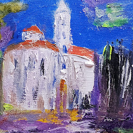 Zadar. Croatia by Vanja Škrobica - Painting All Painting