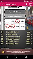 Screenshot of UK Bus Checker Free Live Times