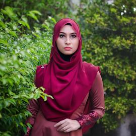 hijab by G-en Are Lock Stuck - People Portraits of Women (  )