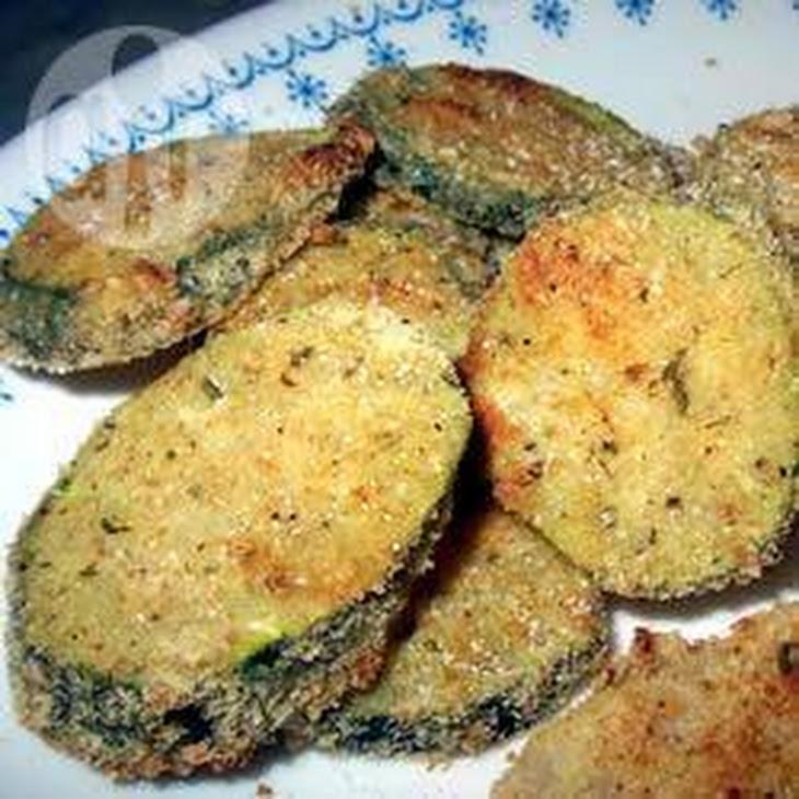 Baked Zucchini Chips Recipe | Yummly