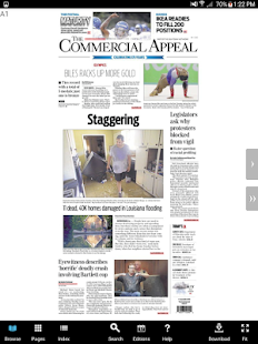 The Commercial Appeal eEdition - screenshot