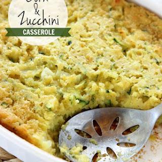 Creamed Corn Zucchini Casserole Recipes