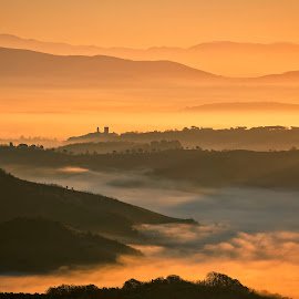 Bagnoregio by Eric Niko - Landscapes Mountains & Hills (  )