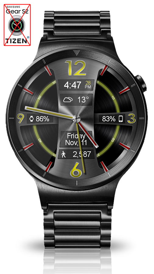 Avionic Depth HD Watch Face Screenshot 7