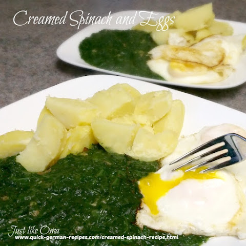 Oma's Creamed Spinach