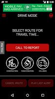 Screenshot of CP24 Traffic Alert