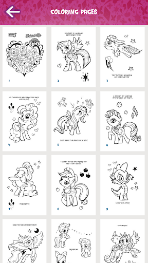My Little Pony Coloring Book - screenshot