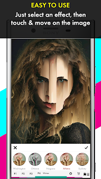 Glitch Photo Maker - Glitch Art & Trippy Effects APK screenshot thumbnail 2