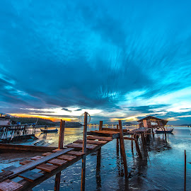 Dove Jetty by Lim Keng - Landscapes Sunsets & Sunrises