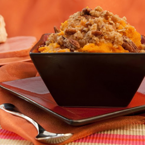 Slow Cooker Sweet Potatoes With Applesauce And Cinnamon