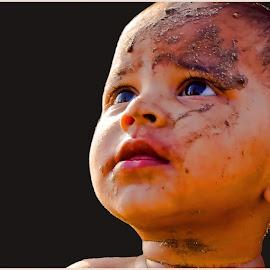 Sky is not the limit by Sandeep Bansal - Babies & Children Child Portraits ( child, mumbai, face, sandeep, children, childhood, smile, boy, portrait, kid, eye )