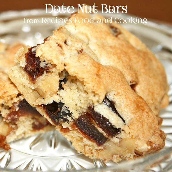 Date Nut Bars Recipe | Yummly