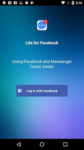 Lite for Facebook - Security Lock For PC