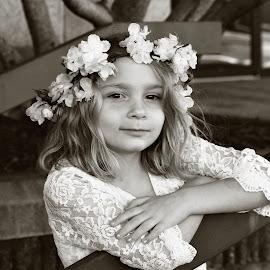 Earth Goddess by Sarah Douglas - Babies & Children Child Portraits