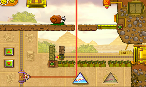 Snail Bob: Egypt Journey - screenshot