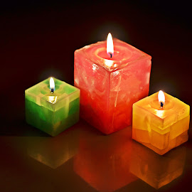 Candles 7 by Pradeep Kumar - Artistic Objects Other Objects