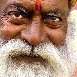 SADHUU by DrBk Guha - People Portraits of Men
