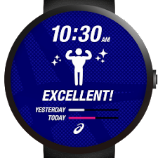 ASICS Watchface for Activity
