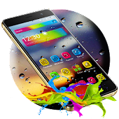 App Colorful Water Drops Theme APK for Windows Phone