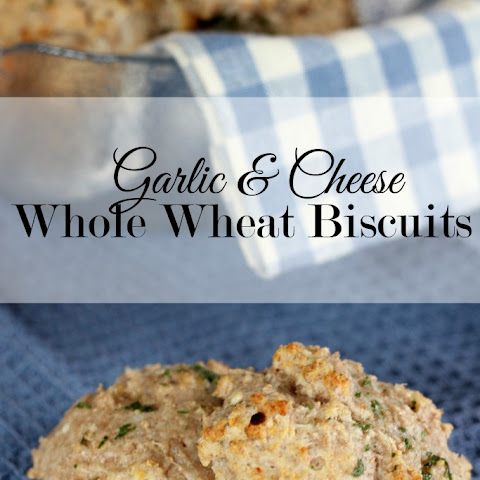 Garlic & Cheese Whole Wheat Biscuits