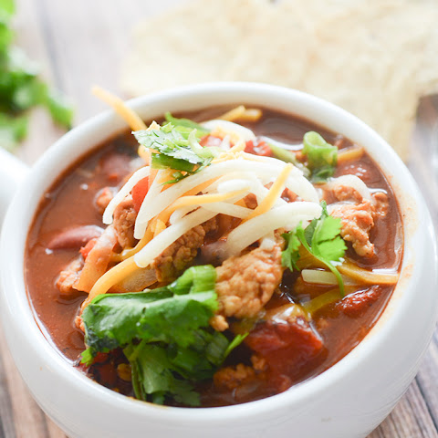 Weight Watcher's Buffalo Chicken Chili