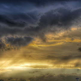 sunset, clouds,  by Gopinath Selvam - Landscapes Cloud Formations