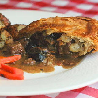 Portobello Bacon Steak Pie