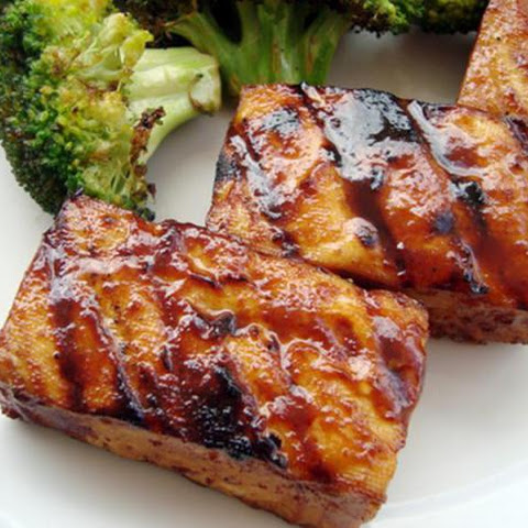 Smoky Grilled Tofu With Hoisin Sauce