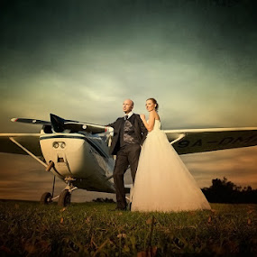 love is in the air by Ante Gašpar - Wedding Bride & Groom ( wedding )