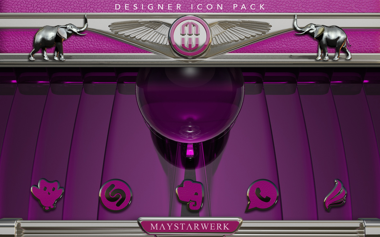Pink E. HD Icon Pack Screenshot 10
