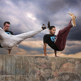 Concrete jumpers  by Dries Fourie - Sports & Fitness Other Sports