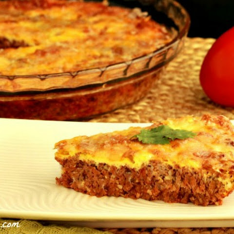 Easy Paleo Hamburger Pie, Crust Free