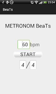 Simple Metronome Beats - screenshot