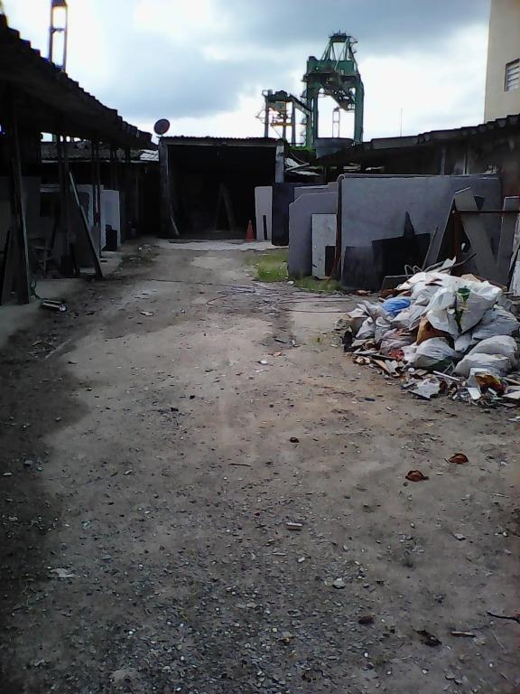 Terreno comercial para venda e locação, Encruzilhada, Santos - TE0031.