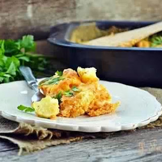 Baked Cauliflower With Cream Sauce