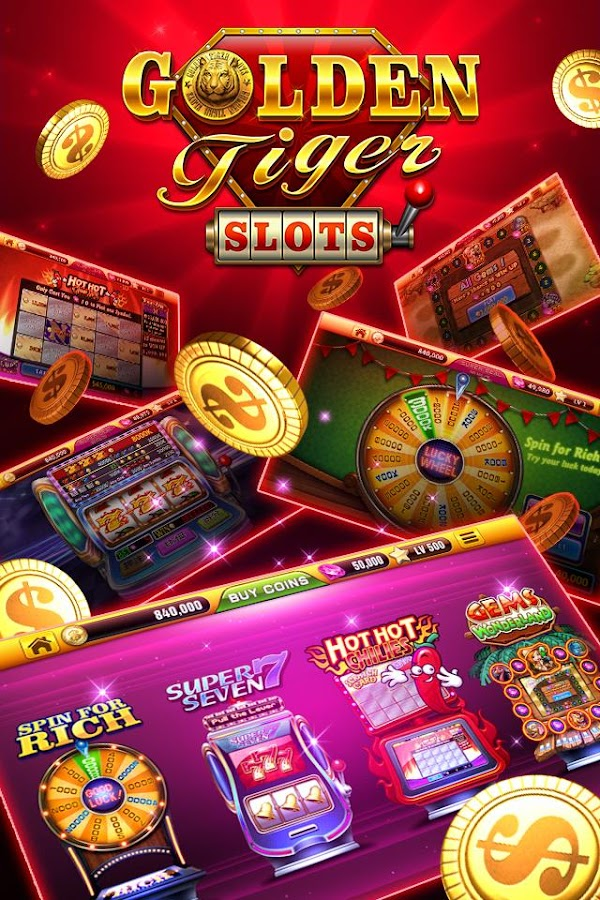 Golden Tiger Slots- free vegas Screenshot 1