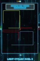 Screenshot of Light Cycles Duel 2