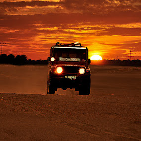 on the sahara by Pungky K - Transportation Automobiles