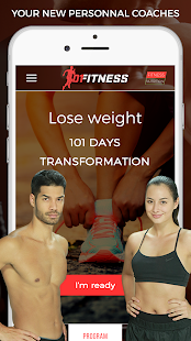 101 Fitness Video Workout free Fitness app screenshot for Android